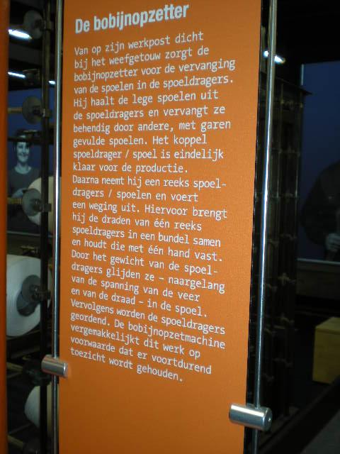 Het Nederlands in de musea, bezoekerscentra en toeristische diensten 100124082336440055310905