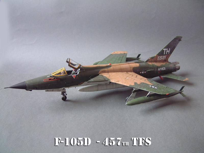 [HobbyBoss] F-105D Thunderchief, 1/48e 100125021636476905314687