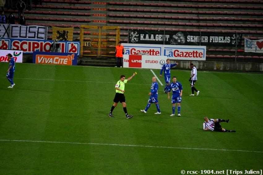 R.Charleroi.S.C. - K.A.A.Gent. [Photos] [0-2] 100129125132965885334100