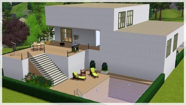 construire une belle maison sims 4. Black Bedroom Furniture Sets. Home Design Ideas