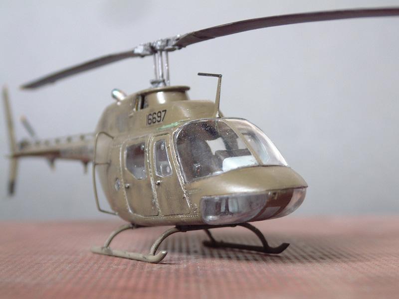 [Italeri] OH-58A Kiowa, 1/48e 100206031240476905385265