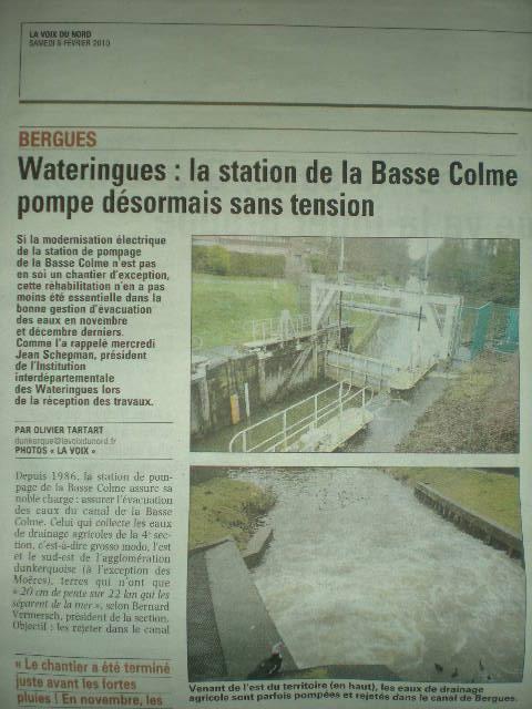 Driehoek Calais Sint-Omaars Duinkerke onder water? 100208095244970735403181