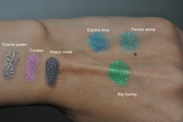 Swatch pigments MAD mineral 100217044853824625460182