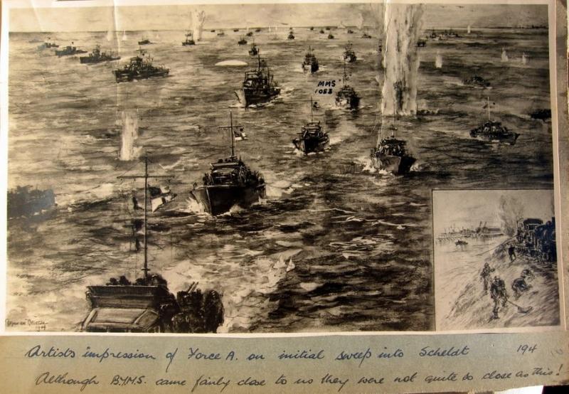 Célébration des 75 ans de la bataille de l'Escaut 100217095736894815463940