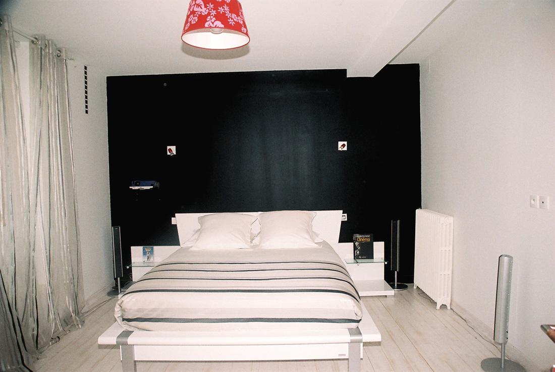 besoin dide pour une chambre noirblanc - Peinture Noir Et Blanc Chambre